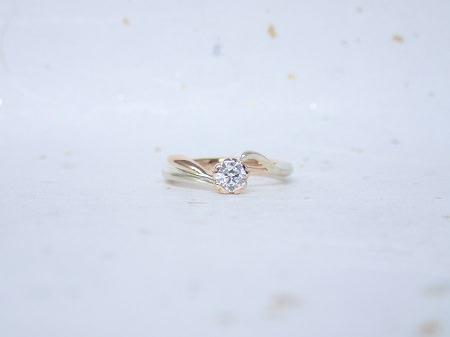 18011302木目金の婚約指輪と結婚指輪_Y003.JPG