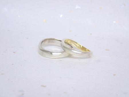 18011302木目金の婚約指輪と結婚指輪_Y004.JPG