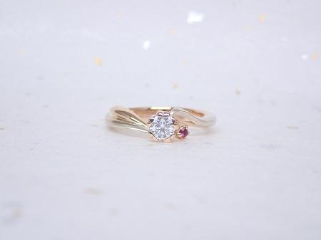 18011403木目金の婚約指輪 Y001.JPG