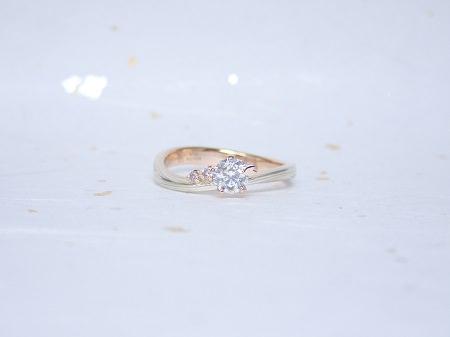 18012201木目金の婚約指輪・結婚指輪K_005.JPG