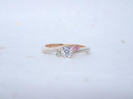 18031001木目金の婚約指輪・結婚指輪_B004.JPG