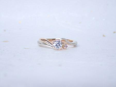 18031101木目金の婚約指輪_J002.JPG