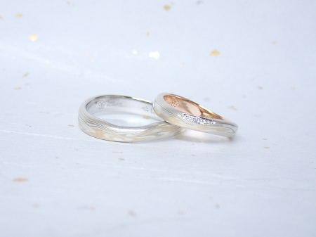 18031301木目金の婚約指輪・結婚指輪_J004.JPG