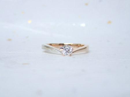 18031701木目金の婚約指輪、結婚指輪B_003.JPG