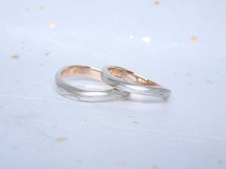 18031701木目金の婚約指輪結婚指輪_J005.JPG