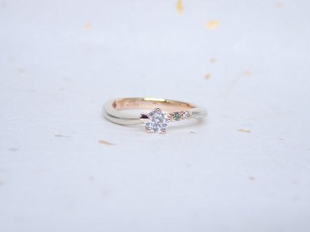 18033001木目金の婚約結婚指輪_E003.JPG
