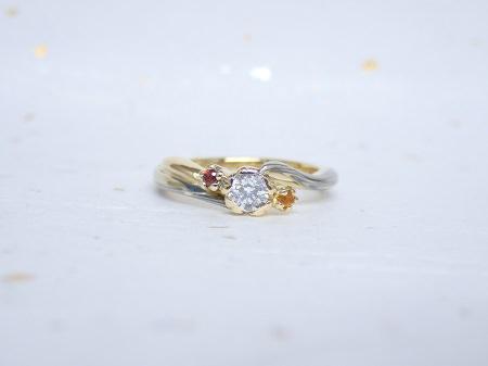 18040601木目金の婚約指輪-Y002.JPG