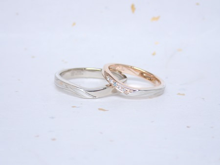 18040701木目金の婚約指輪、結婚指輪_005.JPG