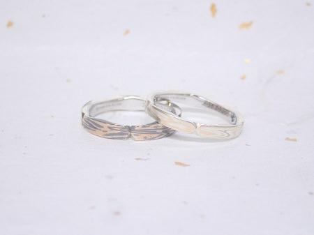 18041401木目金の婚約指輪、結婚指輪_Y004.JPG