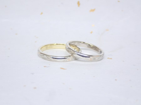 18041601木目金の婚約指輪、結婚指輪_Y004.JPG
