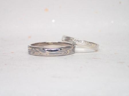 18043001木目金の結婚指輪 Y004.JPG
