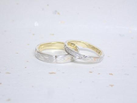 18051306木目金の結婚指輪 Y003.JPG