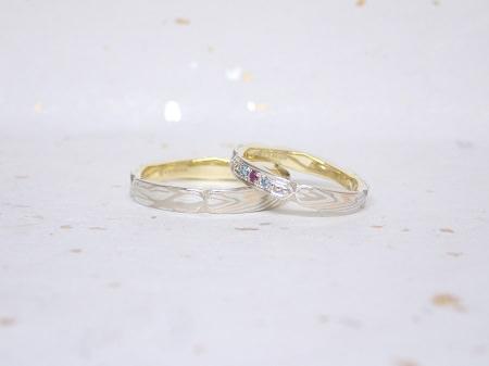 18061602木目金の結婚指輪_U03.JPG