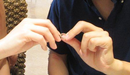 18062404 木目金の結婚指輪_M002.JPG