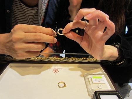 18070102杢目金の婚約指輪と結婚指輪_A002.JPG