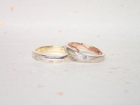 18082601 木目金の結婚指輪_B003.JPG