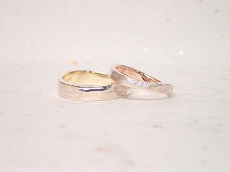 18083101木目金の婚約指輪と結婚指輪_A005.JPG