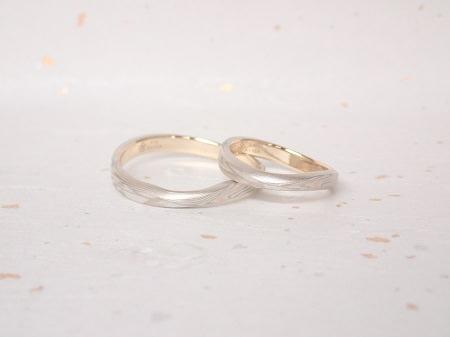 18090601木目金の婚約指輪・結婚指輪_Y004.JPG