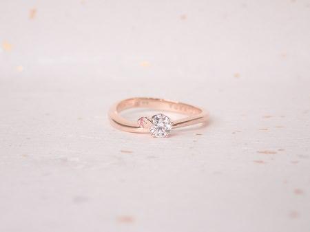 18091501ピンクゴールドの婚約指輪_Q004.JPG