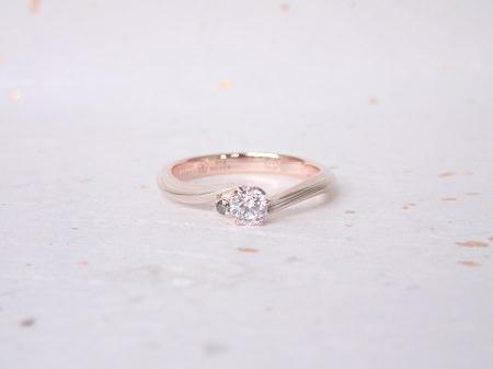 18092701木目金の婚約指輪と結婚指輪_A003.JPG