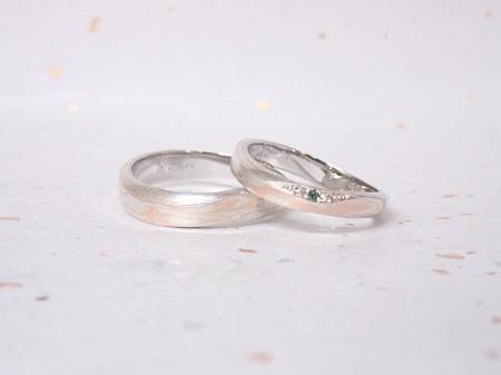 18092701木目金の婚約指輪と結婚指輪_A004.JPG
