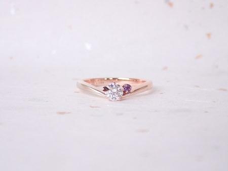 18100201木目金の婚約指輪と結婚指輪_Q004①.JPG