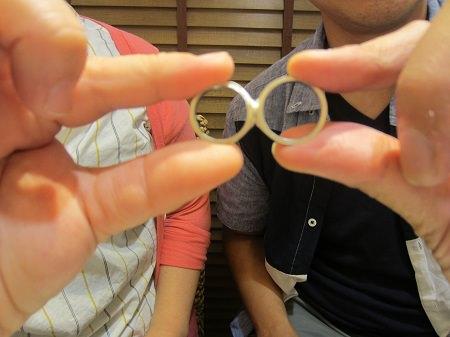 18100701木目金の結婚指輪A_001.JPG