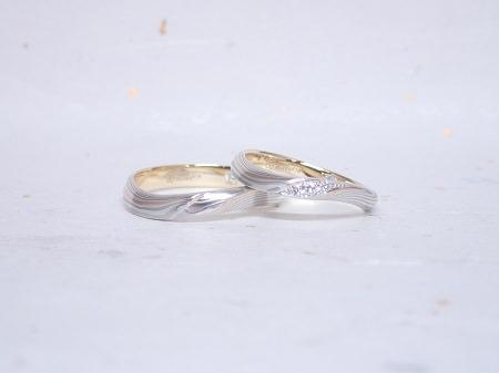 18102704木目金の婚約指輪・結婚指輪_J004.JPG