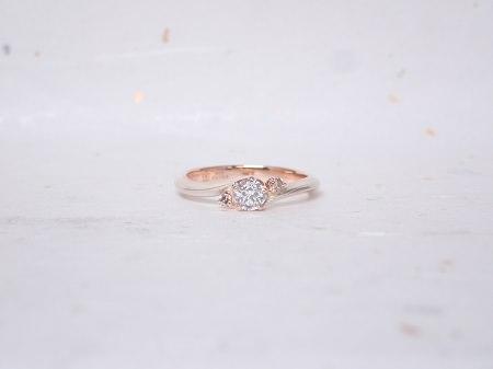 18110302木目金の婚約指輪Y_001.JPG