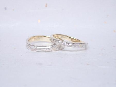 18110303木目金の婚約指輪・結婚指輪_J005.JPG