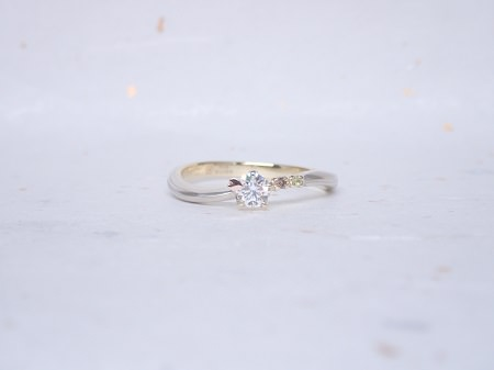 18110303木目金の婚約指輪・結婚指輪_J004.JPG
