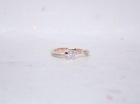 18110401木目金の婚約指輪と結婚指輪_B004.JPG