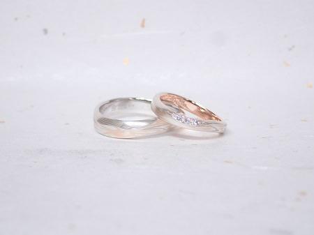 18110401木目金の婚約指輪と結婚指輪_B005.JPG