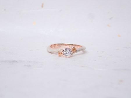 18111701木目金の婚約指輪、結婚指輪A_003.JPG