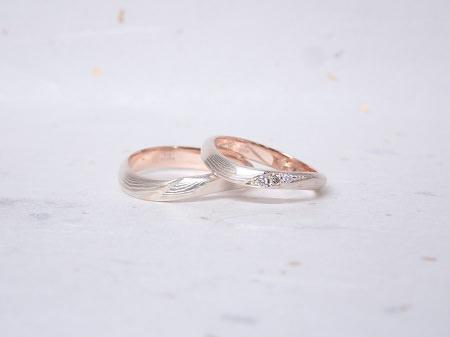 18111701木目金の婚約指輪、結婚指輪A_004.JPG