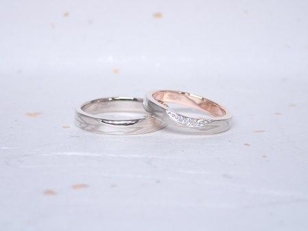 18120801木目金の婚約指輪と結婚指輪_Q004.JPG