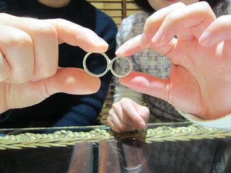 18121501木目金の婚約指輪・結婚指輪_B001.JPG