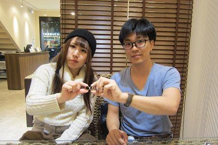 18121502木目金の婚約・結婚指輪Z_001.JPG