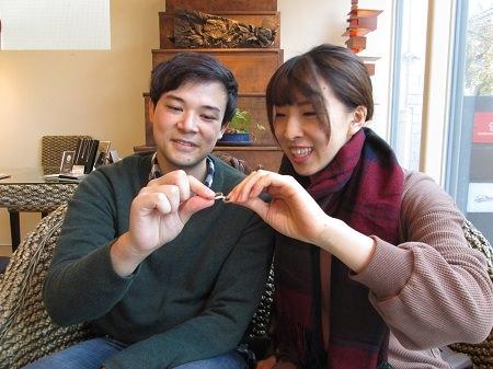 181222003木目金の婚約指輪と結婚指輪_M002.JPG