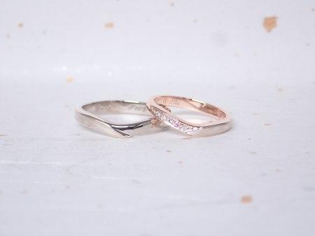 181222003木目金の婚約指輪と結婚指輪_M005.JPG