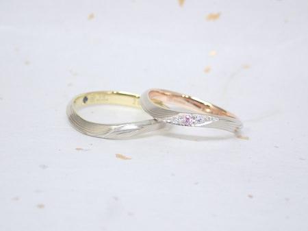 18041504木目金の結婚指輪_S004