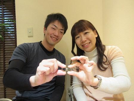 19012601木目金の婚約・結婚指輪_N001.JPG