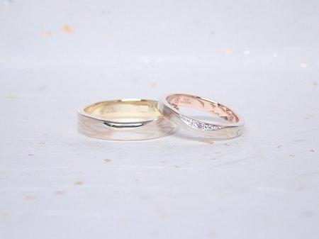 19020201木目金の結婚指輪-Y004.JPG