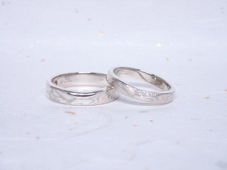 19021601木目金の婚約指輪と結婚指輪A_004②.JPG