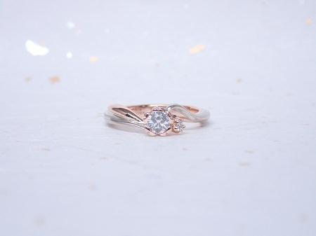 19022301木目金の婚約指輪・結婚指輪_B003.JPG
