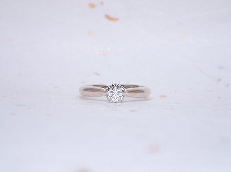 19033001木目金の婚約指輪と結婚指輪_A004①.JPG