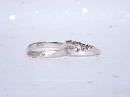 19033001木目金の婚約指輪と結婚指輪_A004②.JPG