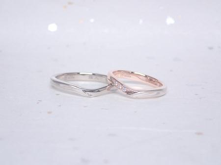 19040601木目金の婚約結婚指輪_E005.JPG