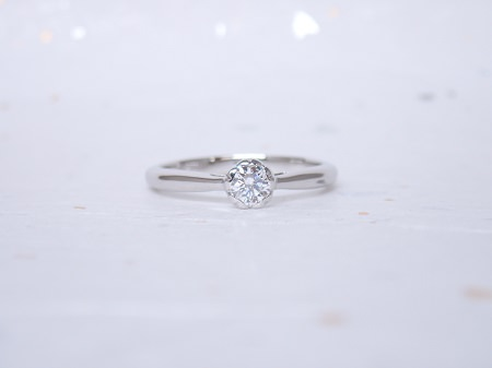 19041401婚約指輪と木目金の結婚指輪_A004①.JPG