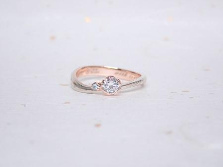 19042501木目金の婚約指輪と木目金の結婚指輪_004①.JPG